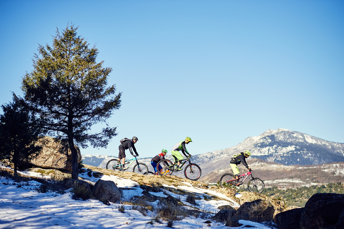 MTB Enduro Holidays Madrid, Spain