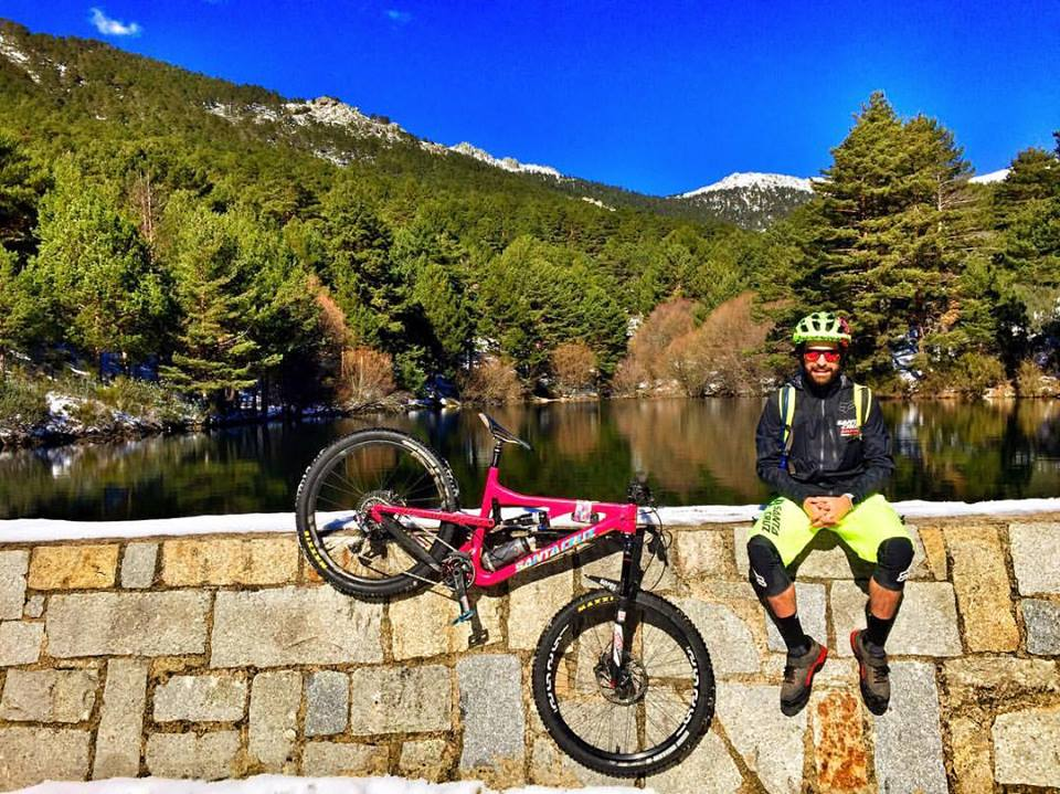 BlackTown Trails Madrid Mountain bike enduro holidays Iago