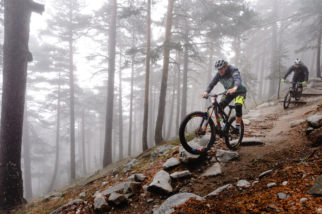 Mountain bike holidays Madrid Spain